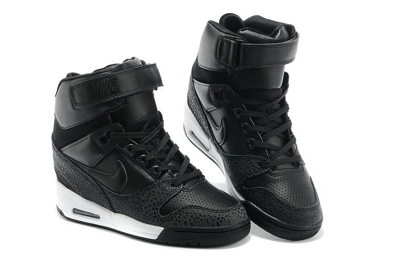 2b8f440d5c revolution sky hi 2014 nike femme ascenseur chaussures populaire discount  334 noir