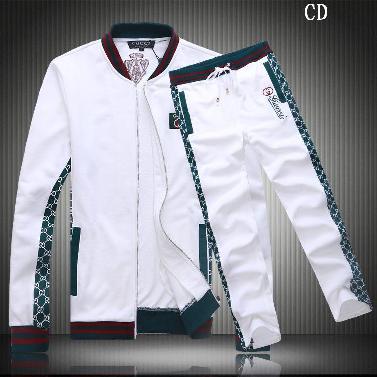 survetement gucci hommes mode britannique classique marque chaud blanc noir  rouge yt · vente prix jogging gucci survetement inside blance ebay d94d50ee37b