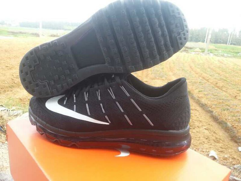 reputable site aa072 10cea chaussures nike air max 2016 baskets super hommes france all noir