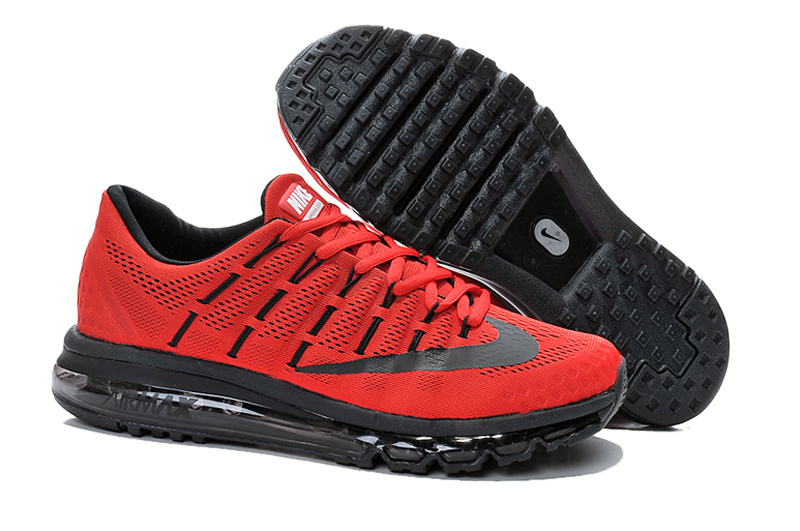 super popular d7ee4 a29d4 chaussures nike air max 2016 baskets super hommes france rouge flag