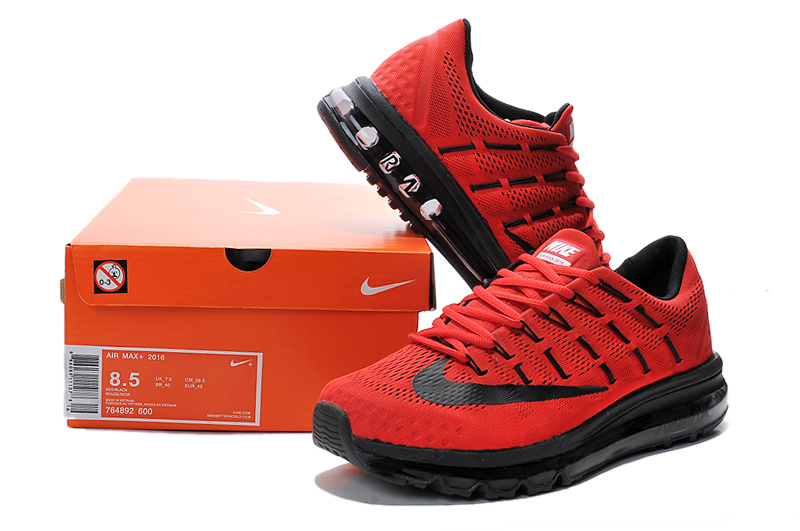 super popular f191e ac181 chaussures nike air max 2016 baskets super hommes france rouge flag